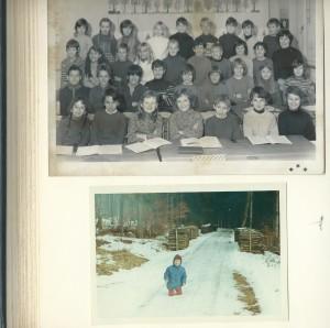Foto 1 Beat Toniolo im Team und alleine im Schnee