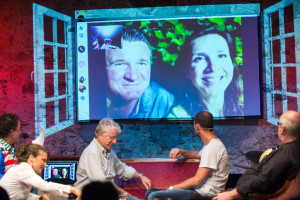 Skypen mit Rommy und Michael aus Leipzig